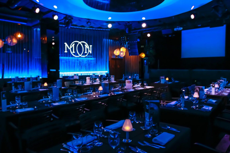 Sala para eventos Moon Club - Eventos Grupo Salamandra