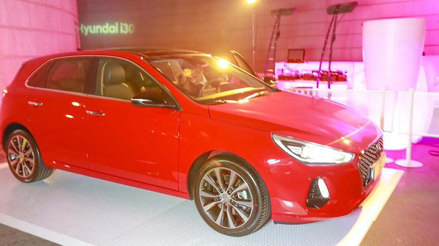 presentación del nuevo modelo Hyundai i30 2017, el pasado Viernes 17 de febrero tuvo lugar el acto de su lanzamiento en las instalaciones de Mya, situada en la Ciudad de las Artes y las Ciencias