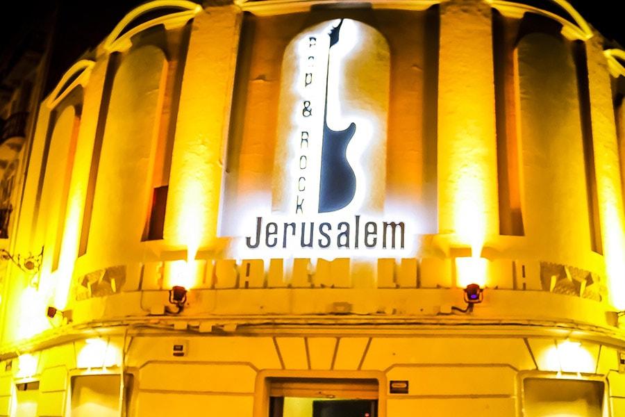 Sala Jerusalem Club Eventos Grupo Salamandra