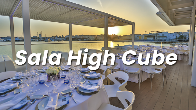 Alquiler de Salas para eventos en Valencia - Sala High Cube Eventos Grupo Salamandra