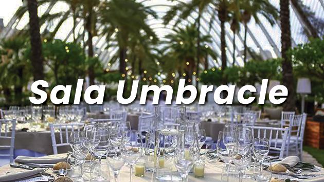 Alquiler de Salas para eventos en Valencia - Sala Umbracle Eventos Grupo Salamandra