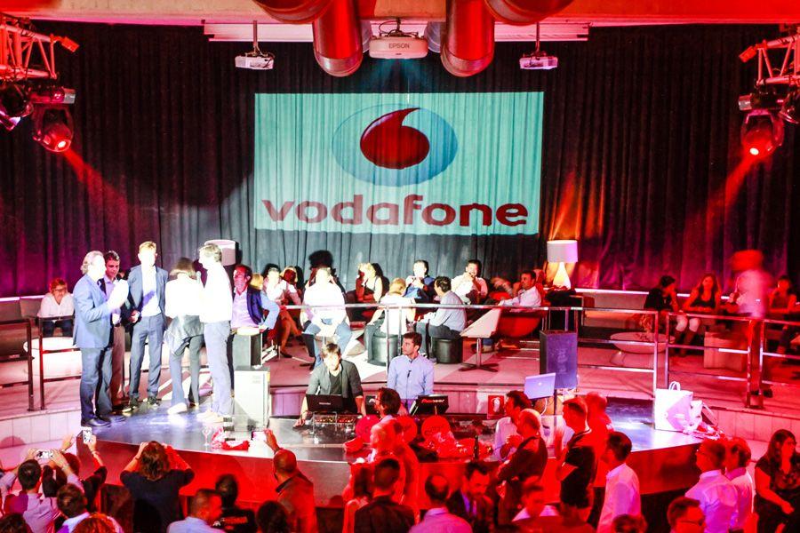 Evento Vodafone en Sala Club Mya Valencia