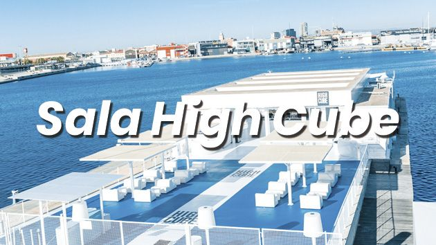 Alquiler de Sala High Cube para eventos en Valencia Cube con Eventos Grupo Salamandra